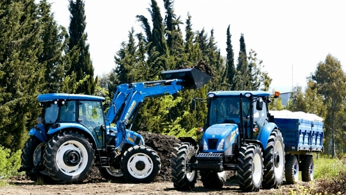 Трактор CASE New Holland TD5 100